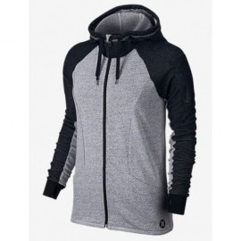 Sweat woman Hurley Dri Fit Zip Up Hwht