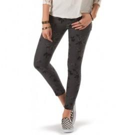 Pantalon Vans Moto Skinny Denim Grey Roses