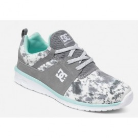 DC Heathrow SE Gray Feather Camo Women's Shoes