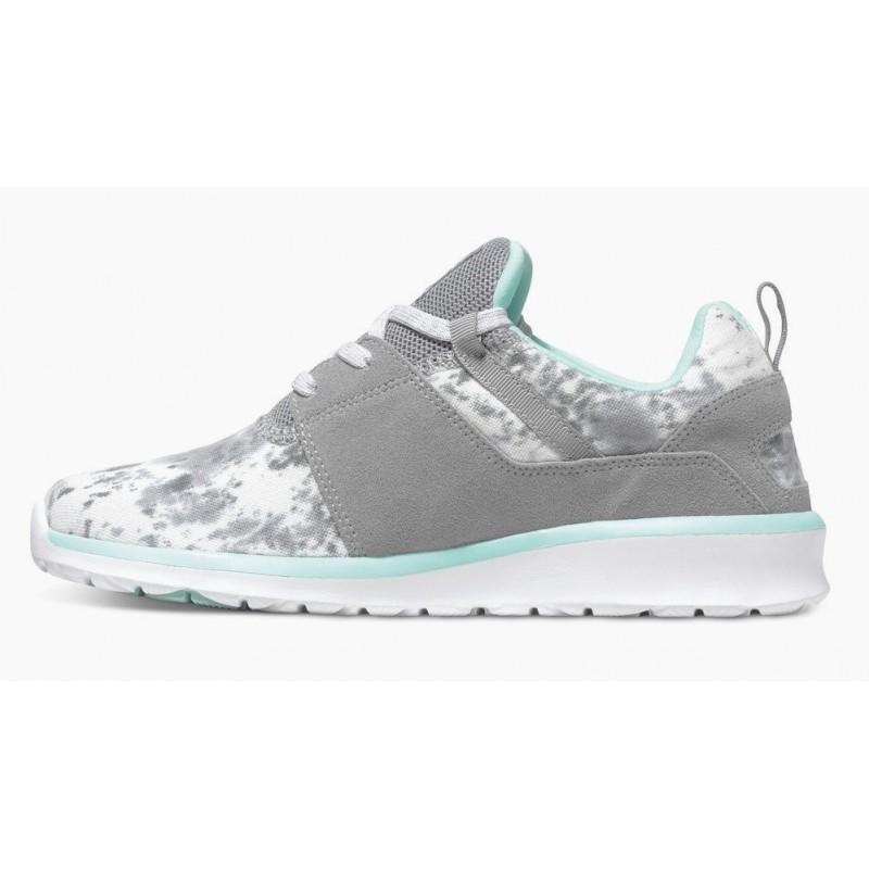 DC Heathrow SE Gray Feather Camo Women s Shoes - Breizh Rider ef328a2e6