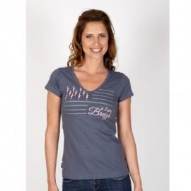 Tee Shirt A L'Aise Breizh Tremel Bluish Gray
