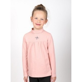 Girl 's Long Sleeve Tee Shirt A L'Aise Breizh Treverec Pastel