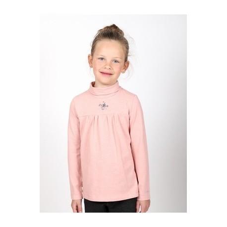 Girl 's Long Sleeve Tee Shirt A L'Aise Breizh Treverec Pastel