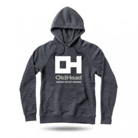 Sweatshirt OldHead Never Stop Riding Charcoal Heather