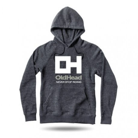 Sweatshirt OldHead Never Stop Riding Charcoal Heather
