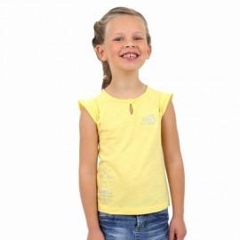Tee Shirt Kids Fille A L'Aise Breizh SADIRA Jaune