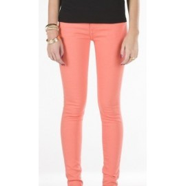 Pantalon Vans Jean Color Skinny Fusion Coral