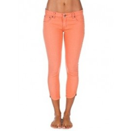 Pantacourt Rip Curl Pins Crop Colour Orange