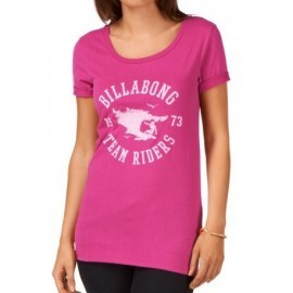Tee Shirt Billabong Ready To Go Fiesta Fushia