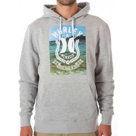 Sweat Hurley Bad Fish Pullover Grey