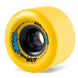 Roues Elixir Abismo Freeride Yellow 64mm 80A