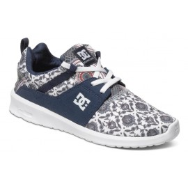 DC Shoes Women Heathrow SE Blue Print