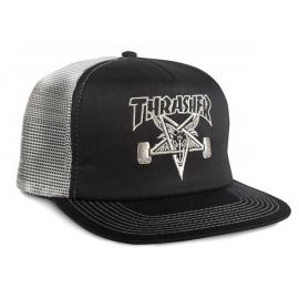 Thrasher Cap Skate Goat Mesh Black Grey