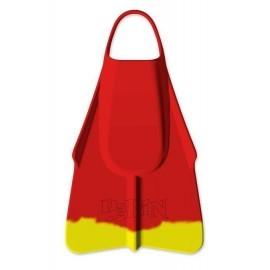 Palme DaFin Lifeguard Rouge Jaune