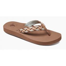 Reef Mid Seas Sandal Mocha Peach