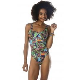 Swimsuit 1 piece Banana Moon Borage Habanera Green