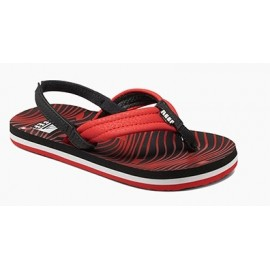 Reef Kid Sandal Ahi Red Shark
