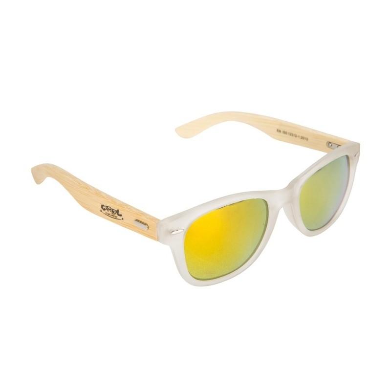 e3a5b962bf80c1 Sunglasses Adult Cool Shoe Woody White - Breizh Rider
