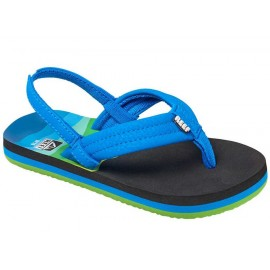 Reef Kid Sandal Ahi Aqua Blue