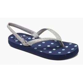 Reef Kid Sandal Little Stargazer Blue Dots