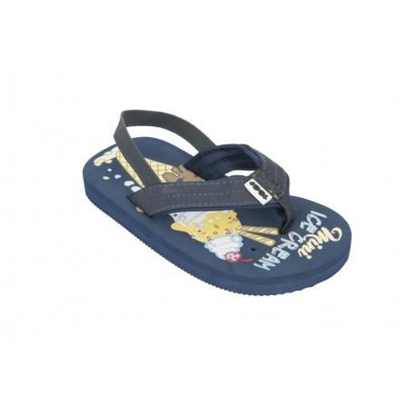 99065eea813 Tong Cool Shoe Child Miam Denim - Breizh Rider