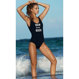 Swimsuit 1 piece Banana Moon Belair Socaly Black