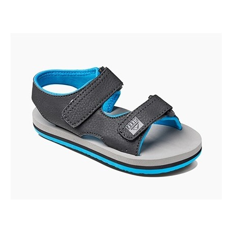 Tong Kids Reef Grom Stomper Grey Blue