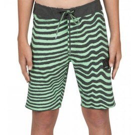 Boardshort Junior Volcom Mag Vibes Stoney Poison Green