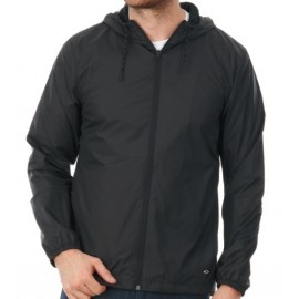 Men's Oakley Windbreaker Blackout Windbreaker