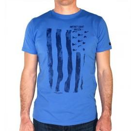 Tee Shirt Homme Stered Gwenn Ha Du Bleu
