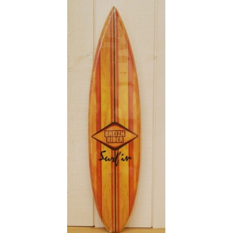 Surf Deco Wood Breizh Rider 6