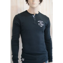 Men's Long Sleeve T-Shirt Stered Tunisien Navy
