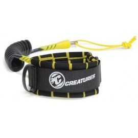 Leash Bodyboard Creatures Bicep Ryan Hardy S Black Yellow
