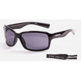 Ocean Floating Sunglasses Venezia Mat Black Smoke