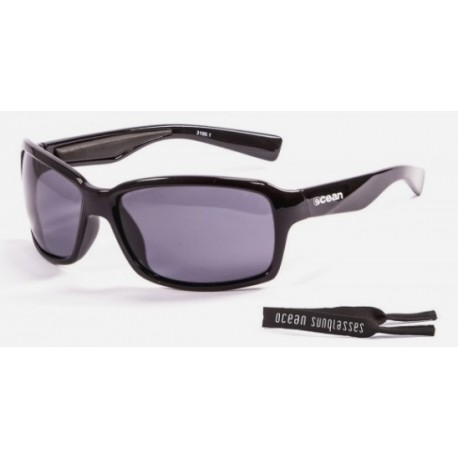 Ocean Aruba Floating Sunglasses Mat Black Blue