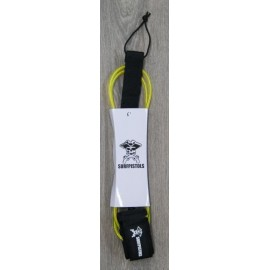 Leash Surf Pistols 6' Jaune