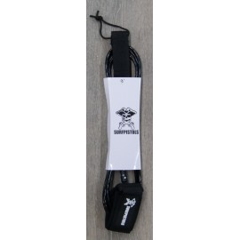 Leash Surf Pistols Cheville 9' Noir