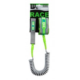 Leash Howzit SUP Race Coil Silver Lime 9'