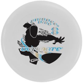 Ultimate Frisbee Disc White 175gr