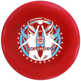 Frisbee Disc Ultimate Rouge 175gr