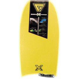 "Bodyboard Flood Dynamix EPS Stringer T:37"" Yellow Tribal"