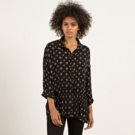 Long Sleeve Shirt Volcom Champain Trail Black