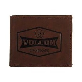 Volcom Draft Pu Wallet Dark Chocolat