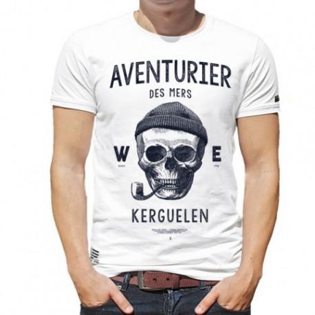 Men's Tee Shirt Stered Aventurier Des Mers Vert
