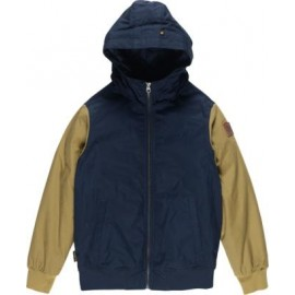 ELEMENT Jacket Ducley Boy Khaki Navy Blue