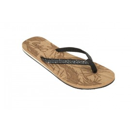 Cool Shoe Low Key Black Flip Flops