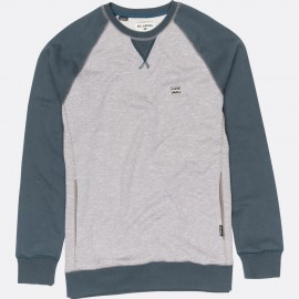 Sweat BILLABONG Équipe de l'équilibre Gris Heather