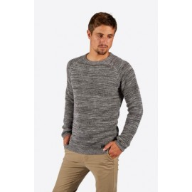 Pull Homme BILLABONG Broke Sweater Mid Grey Heather