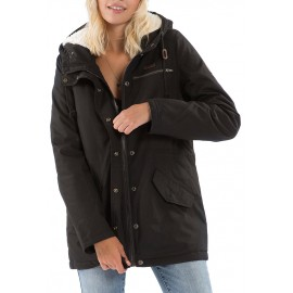 Women's Coat Billabong Facil Iti Off Black