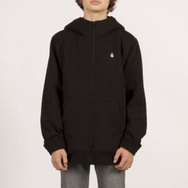 Sweat Doublé sherpa Junior Single Stone Lined Black